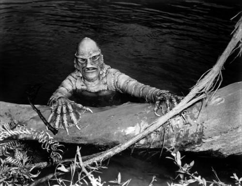 l'étrange creature du lac noir