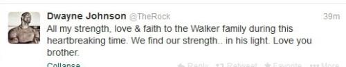therock-to-paul-walker