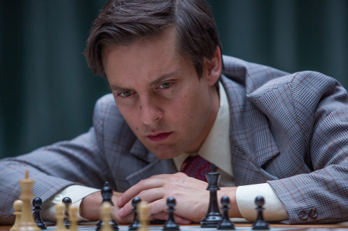 Schach-Genie Bobby Fisher (Tobey Maguire)