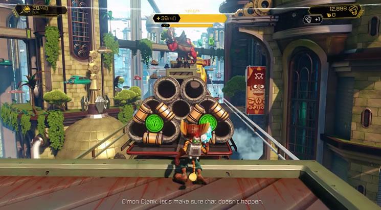 """Résultat de recherche d'images pour """"ratchet et clank ps4 gameplay"""""""