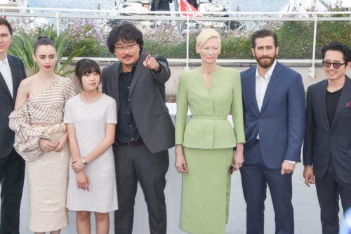 L'équipe d'Okja