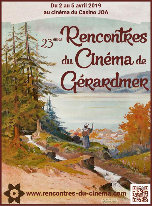 Affiche Rencontres du cinéma de Gérardmer 2019